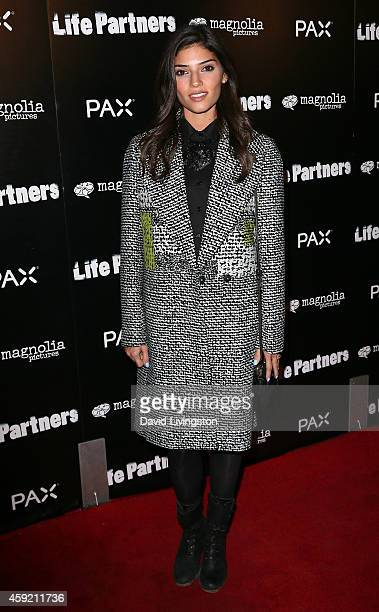 Actress Amanda Setton attends the premiere of Magnolia Pictures' 'Life Partners' at ArcLight Hollywood on November 18 2014 in Hollywood California