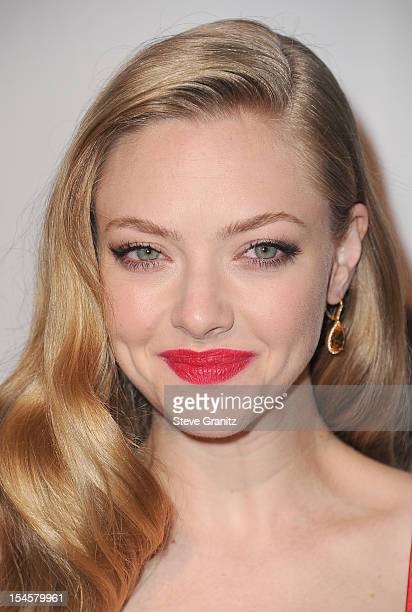 Actress Amanda Seyfried arrives at the 16th Annual Hollywood Film Awards Gala presented by The Los Angeles Times held at The Beverly Hilton Hotel on...