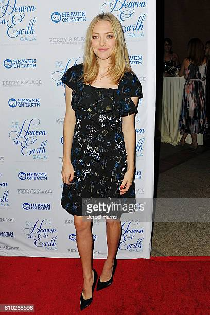 Actress Amanda Seyfried arrives at the 2016 Heaven On Earth Gala at The Garland on September 24 2016 in North Hollywood California