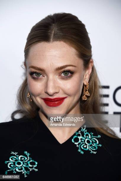 Actress Amanda Seyfried arrives at the premiere of Bleecker Street Media's 'The Last Word' at ArcLight Hollywood on March 1 2017 in Hollywood...