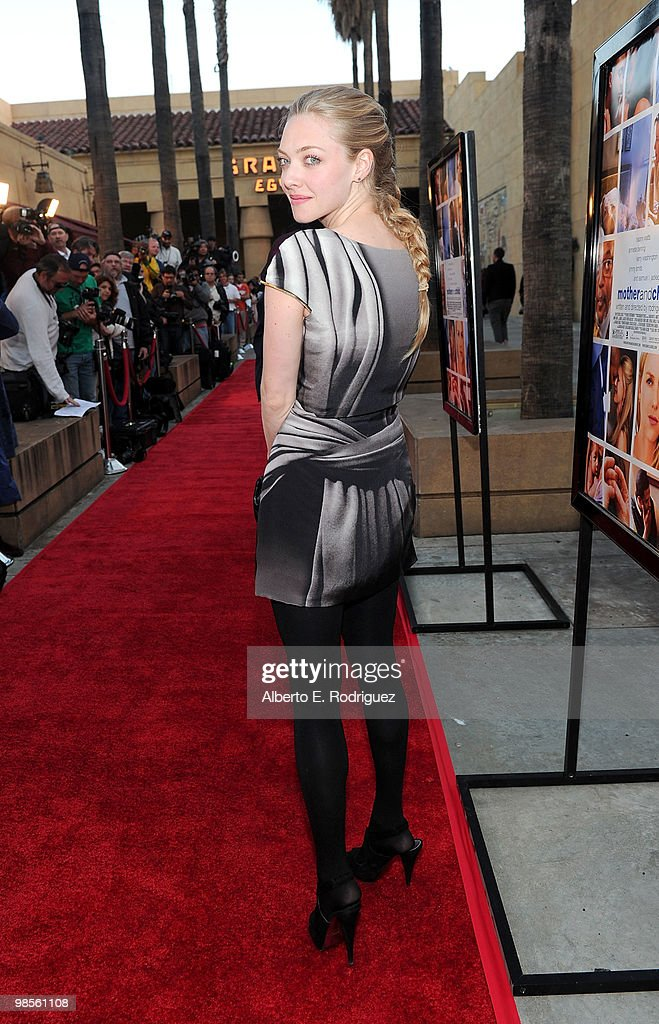 Actress Amanda Seyfried arrives at the premiere of Sony Pictures Classics' 'Mother And Child' held at the Egyptian Theatre on April 19, 2010 in Hollywood, California.