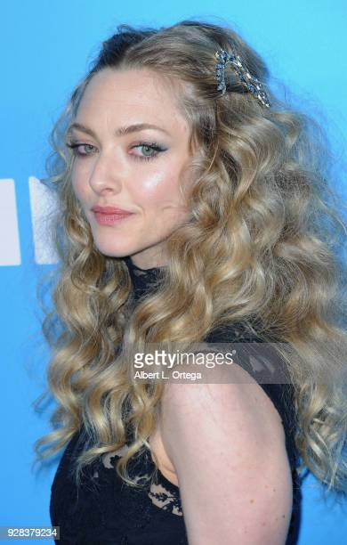 Actress Amanda Seyfried arrives for the Premiere Of Amazon Studios And STX Films' Gringo held at Regal LA Live Stadium 14 on March 6 2018 in Los...