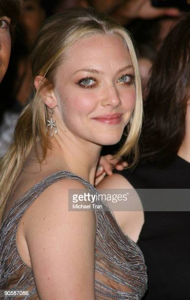 "Actress Amanda Seyfried arrives to the ""Jennifer's Body"" premiere during the 2009 Toronto International Film Festival held at the Ryerson Theatre on..."