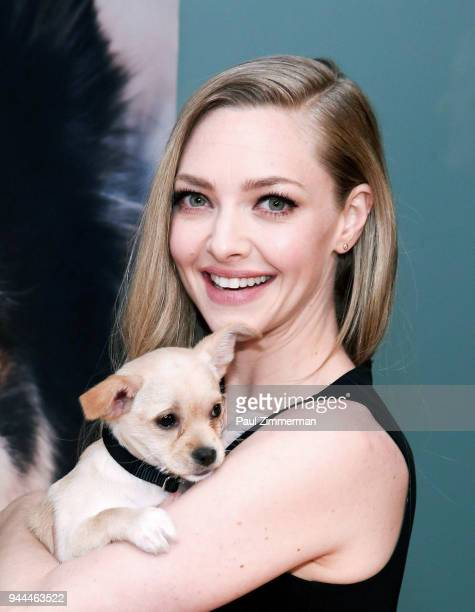 Actress Amanda Seyfried attends 3rd Annual Best Friends Animal Society New York City Gala at Guastavino's on April 10 2018 in New York City