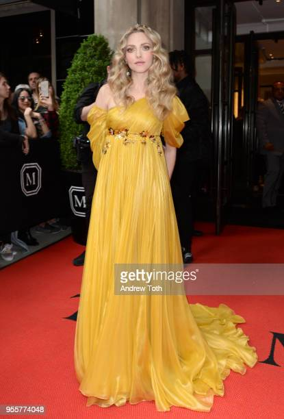 Actress Amanda Seyfried attends as The Mark Hotel celebrates the 2018 Met Gala at The Mark Hotel on May 7 2018 in New York City