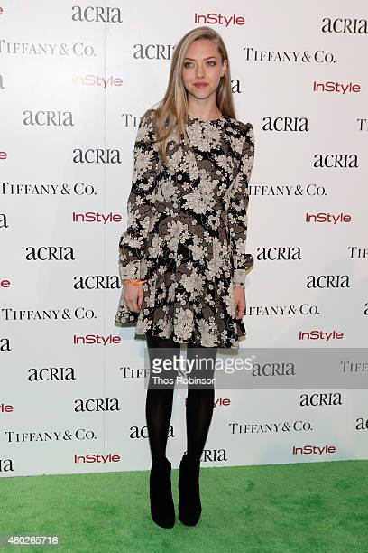 Actress Amanda Seyfried attends the 19th Annual ACRIA Holiday Dinner at Skylight Modern on December 10 2014 in New York City