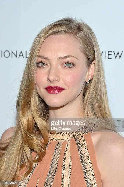 Actress Amanda Seyfried attends the 2013 National Board Of Review Awards at Cipriani 42nd Street on January 8 2013 in New York City