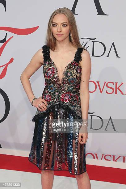 Actress Amanda Seyfried attends the 2015 CFDA Awards at Alice Tully Hall at Lincoln Center on June 1 2015 in New York City