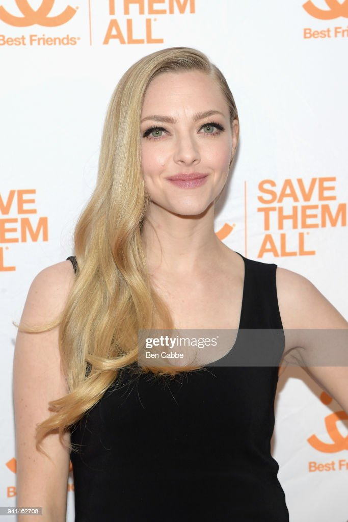 Actress Amanda Seyfried attends the Best Friends Animal Society's 3rd Annual New York City Gala at Guastavino's on April 10, 2018 in New York City.