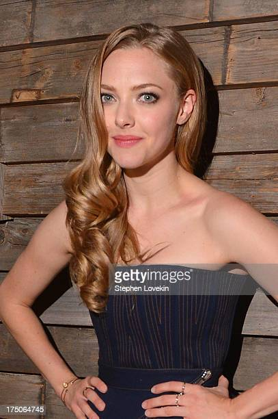 Actress Amanda Seyfried attends The Cinema Society and MCM with Grey Goose screening of Radius TWC's 'Lovelace' After Party at Refinery Hotel on July...