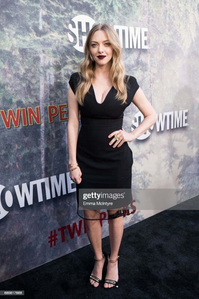 Actress Amanda Seyfried attends the premiere of Showtime's 'Twin Peaks' at The Theatre at Ace Hotel on May 19, 2017 in Los Angeles, California.