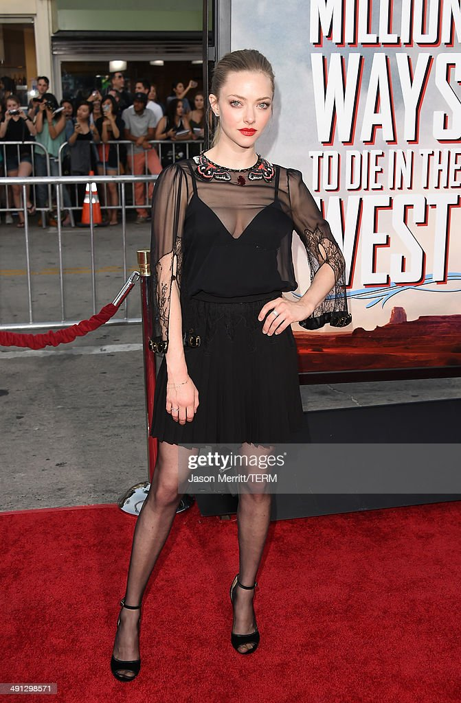 "Premiere Of Universal Pictures And MRC's ""A Million Ways To Die In The West"" - Arrivals : News Photo"