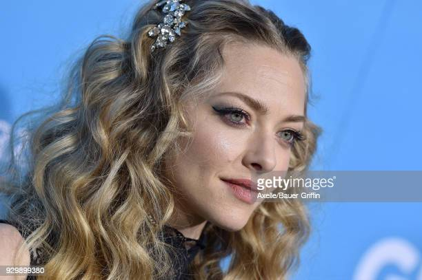 Actress Amanda Seyfried attends the World Premiere of 'Gringo' at Regal LA Live Stadium 14 on March 6 2018 in Los Angeles California