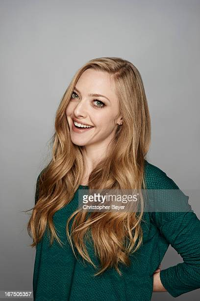 Actress Amanda Seyfried is photographed at the Sundance Film Festival for Entertainment Weekly Magazine on January 23 2013 in Park City Utah