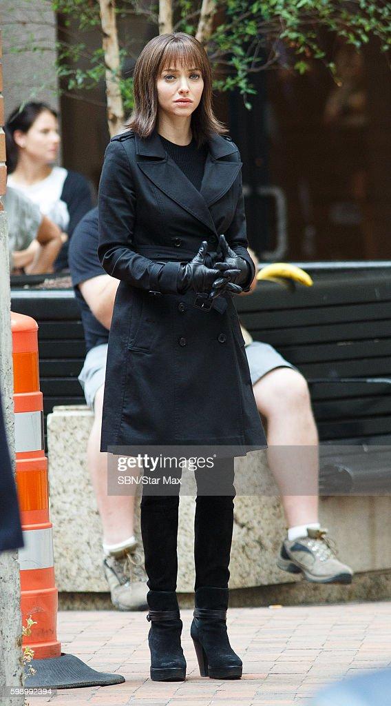 Celebrity Sightings In New York City - September 3, 2015 : Fotografía de noticias