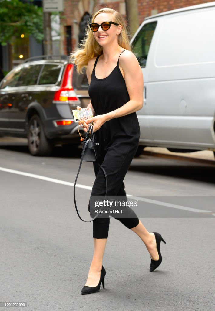 Celebrity Sightings in New York City - July 18, 2018 : News Photo