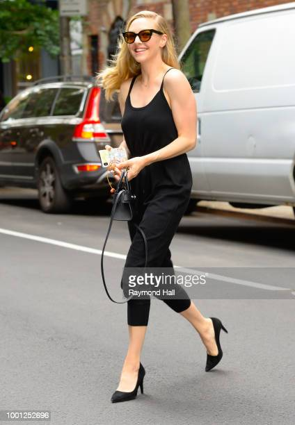 Actress Amanda Seyfried is seen walking in soho on July 18 2018 in New York City