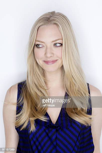 Actress Amanda Seyfried poses for a portrait session at the 2009 Toronto Film Festival on September 11 2009