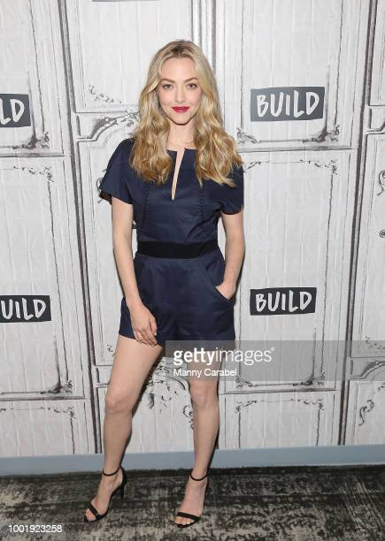 Actress Amanda Seyfried visits Build Series to discuss 'Mamma Mia Here We Go Again' at Build Studio on July 19 2018 in New York City