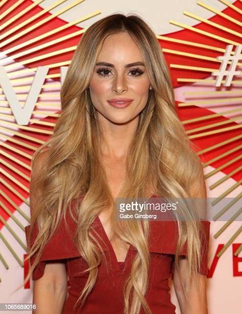 Actress Amanda Stanton attends Revolve's second annual #REVOLVEawards at Palms Casino Resort on November 9 2018 in Las Vegas Nevada