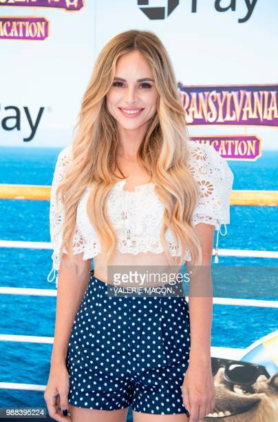 Actress Amanda Stanton attends the world premiere of Hotel Transylvania 3 Summer Vacation on June 30 2018 in Westwood California