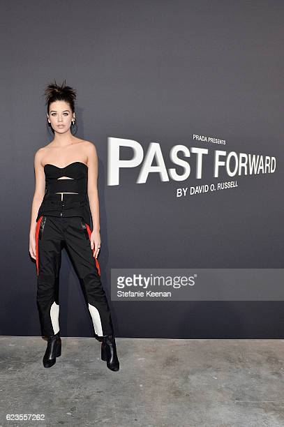 Actress Amanda Steele attends the premiere of 'Past Forward' a movie by David O Russell presented by Prada on November 15 2016 at Hauser Wirth...