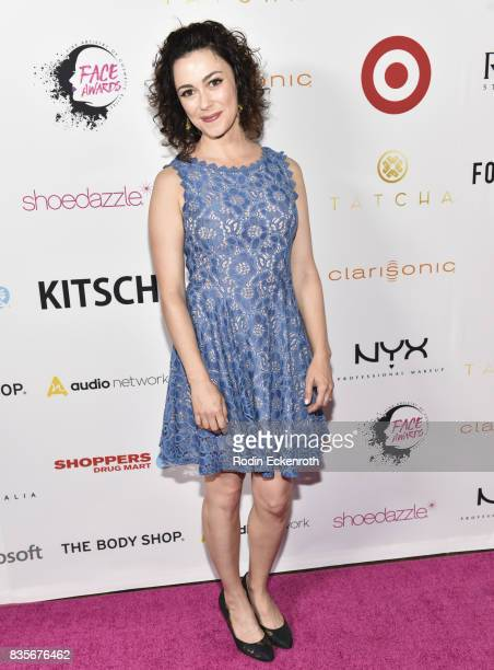 Actress Amanda Troop attends NYX Professional Makeup's 6th Annual FACE Awards at The Shrine Auditorium on August 19 2017 in Los Angeles California