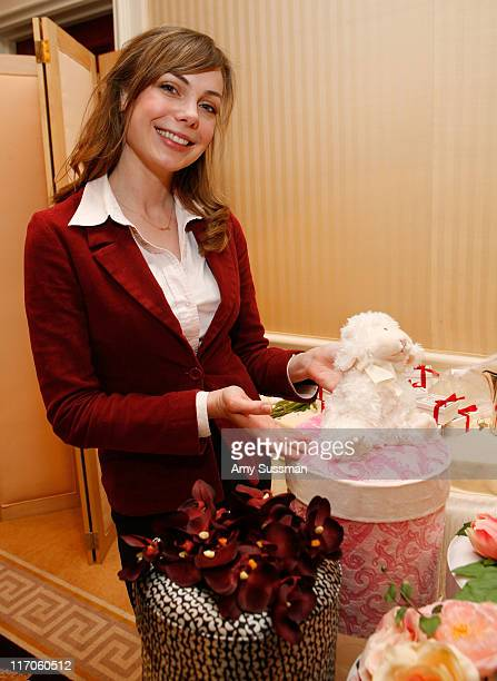 Actress Amanda Walsh attends the Oh Canada Gift Suite at Peninsula Hotel on January 15 2010 in Beverly Hills California