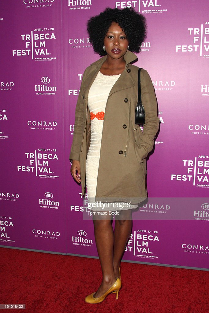 Actress Amanda Warren attends the 5th annual Tribeca Film Festival 2013 LA reception held at The Beverly Hilton Hotel on March 18, 2013 in Beverly Hills, California.