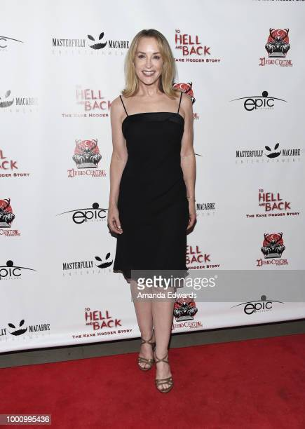 Actress Amanda Wyss arrives at a screening of Epic Pictures Releasing's 'To Hell And Back The Kane Hodder Story' at the TCL Chinese 6 Theatres on...