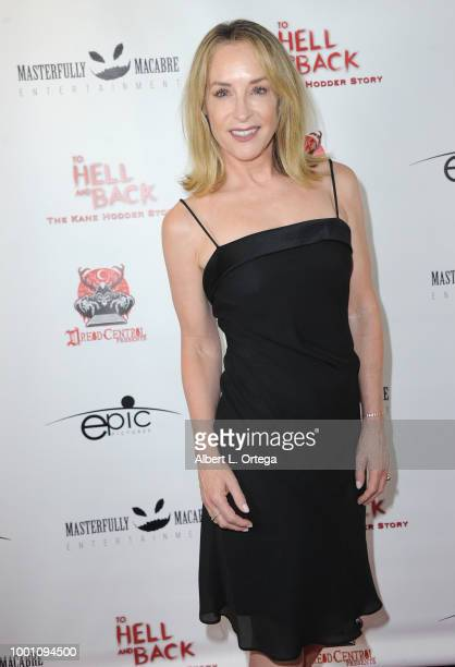 Actress Amanda Wyss arrives for the Screening Of Epic Pictures Releasing's 'To Hell And Back The Kane Hodder Story' held at TCL Chinese 6 Theatres on...