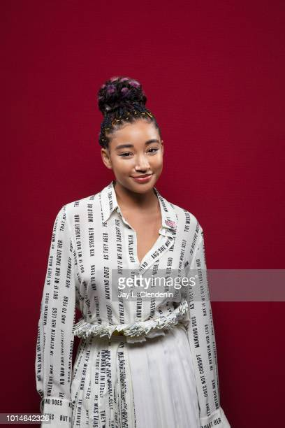 Actress Amandla Stenberg from The Darkest Minds' is photographed for Los Angeles Times on July 21 2018 in San Diego California PUBLISHED IMAGE CREDIT...