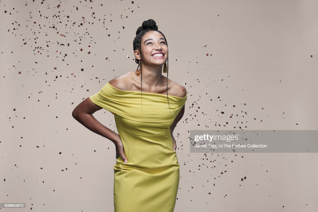 Actress Amandla Stenberg is photographed for Forbes Magazine on October 22, 2017 in New York City. PUBLISHED IMAGE.