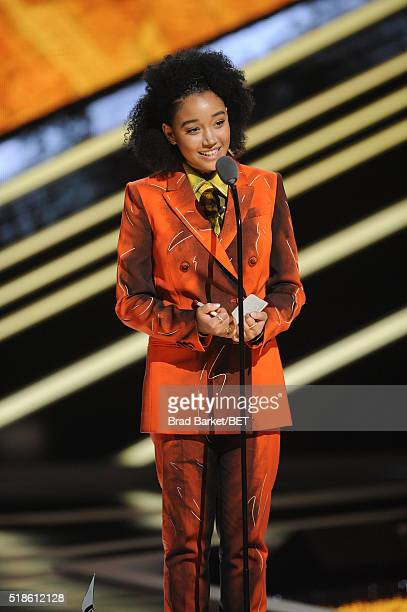 Amandla Stenberg Stock Photos and Pictures