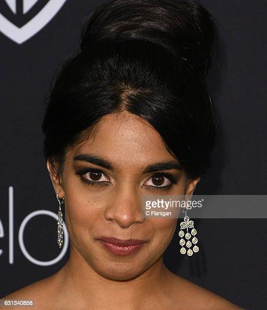 Actress Amara Karan attends the 18th Annual PostGolden Globes Party hosted by Warner Bros Pictures and InStyle at The Beverly Hilton Hotel on January...