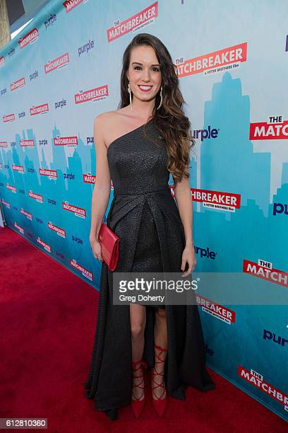 """Actress Amaris Kirby arrives for the Red Carpet Premiere Of Stadium Media's """"The Matchbreaker"""" at the ArcLight Cinemas Cinerama Dome on October 4,..."""