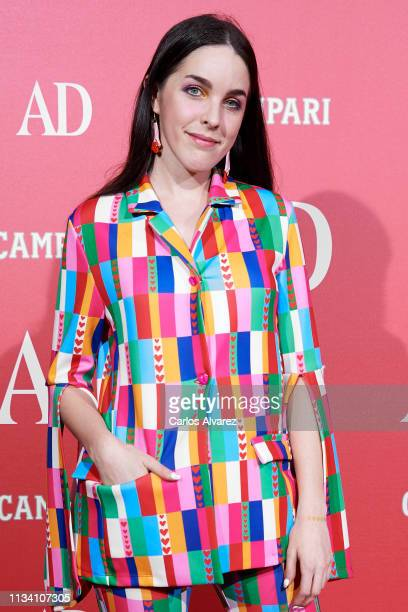 Actress Amarna Miller attends the 'AD Awards' 2019 at the Royal Theater on March 06 2019 in Madrid Spain