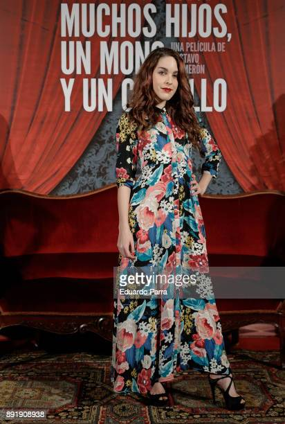 Actress Amarna Miller attends the ''Muchos Hijos Un Mono Y Un Castillo' premiere at Callao cinema on December 13 2017 in Madrid Spain