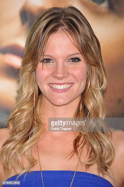 Actress Amber Borycki arrives at the Universal Pictures' premiere of 'Charlie St Cloud' held at the Regency Village Theater in Westwood