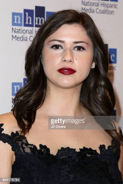Actress Amber Coney attends the 20th Annual National Hispanic Media Coalition Impact Awards Gala at Regent Beverly Wilshire Hotel on February 24 2017...