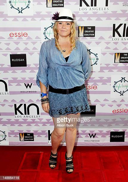 Actress Amber Frakes attends Kari Feinstein's MTV Movie Awards Style Lounge at the W Hollywood on June 1 2012 in Hollywood California