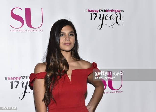 Actress Amber Frank attends SU Magazine's 17th Anniversary Celebration at Avalon on August 12 2017 in Hollywood California