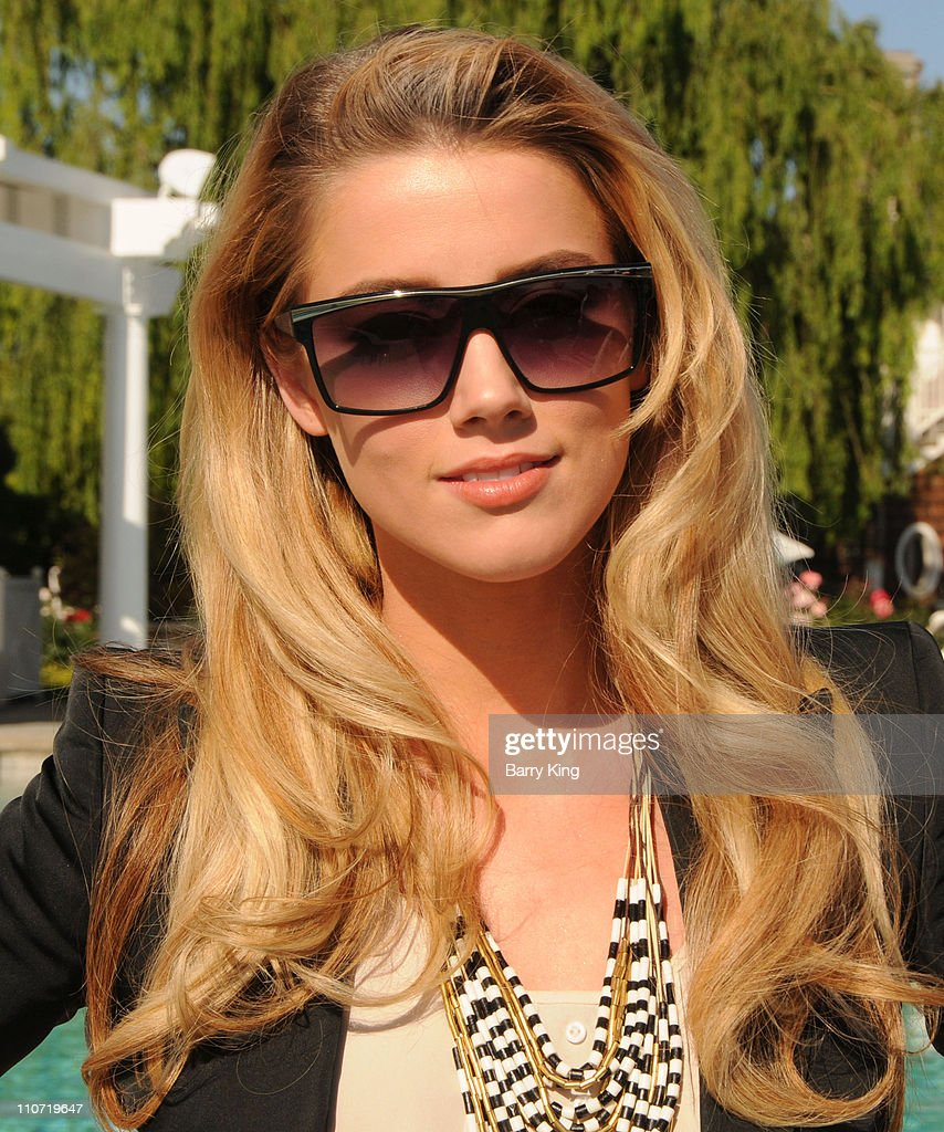 Actress Amber Heard attends Equality California's Harvey Milk Day Celebration At The Osbourne Estate Hill House on May 22, 2010 in Hidden Hills, California.