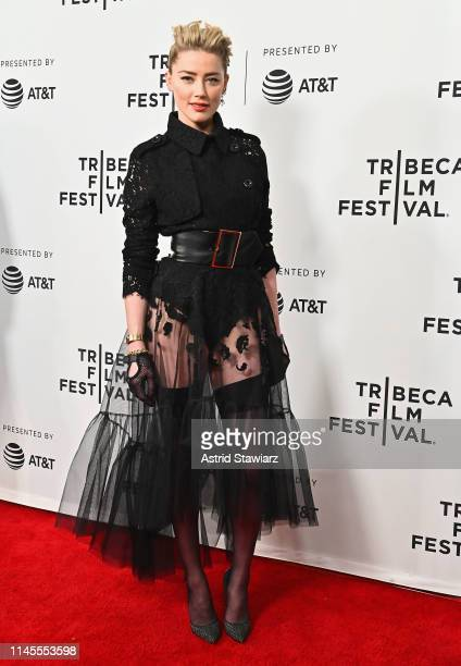 Actress Amber Heard attends Gully screening at 2019 Tribeca Film Festival at SVA Theater on April 27 2019 in New York City