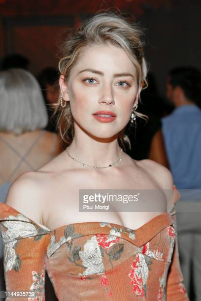 Actress Amber Heard attends the 18th annual Vital Voices Global Leadership Awards at The Kennedy Center on April 24, 2019 in Washington, DC.