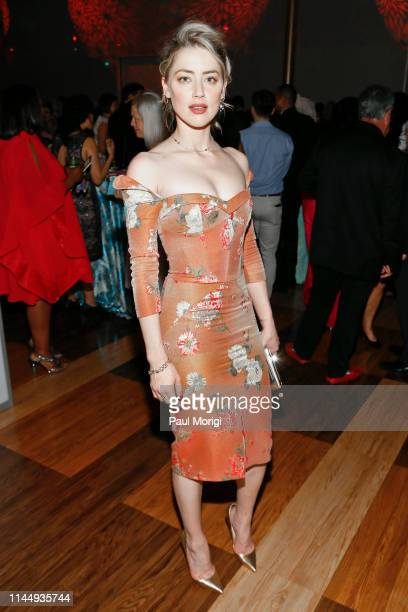 Actress Amber Heard attends the 18th annual Vital Voices Global Leadership Awards at The Kennedy Center on April 24 2019 in Washington DC