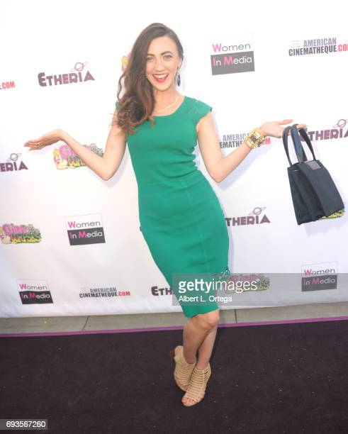 Actress Amber Martinez arrives for Etheria Film Night held at The Egyptian Theatre on June 3 2017 in Los Angeles California