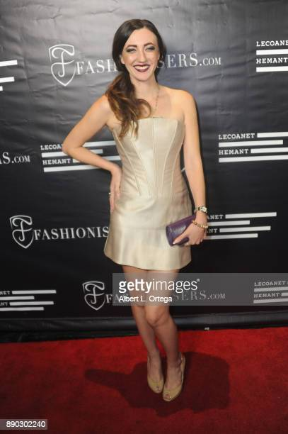 Actress Amber Martinez arrives for Fashioniserscom Presents The Los Angeles Debut Of Lecoanet Hemant At 'One Night In Paris' held at Sofitel Hotel on...