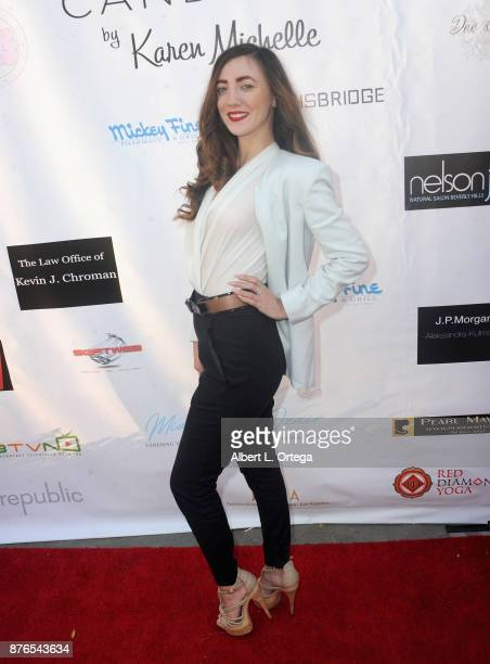 Actress Amber Martinez at the Love Your Body Fashion Show And Shopping Event held at Luxe Sunset Boulevard Hotel on November 19 2017 in Beverly Hills...