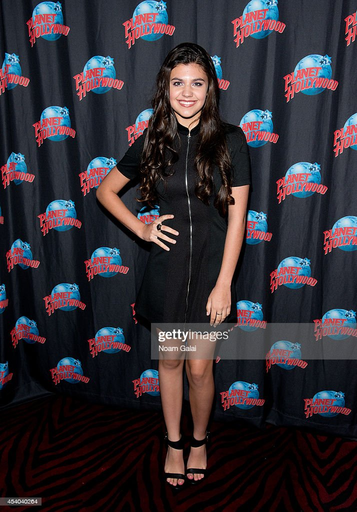 Amber Montana Visits Planet Hollywood Times Square